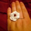 Romantikus horgolt gyűrű, Nyár, romantika...Íly érzés töltött el, miko...