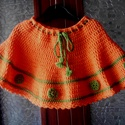 Narancsliget- szoknya  , Baba-mama-gyerek, Ruha, divat, cipő, Gyerekruha, Kisgyerek (1-4 év), Horgolás, Varrás, Ezt az vidám színű szoknyát horgolással készítettem. Azoknak az anyukáknak ajánlom, akik szeretik a..., Meska