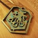 Kraken kulcstartó, Mindenmás, Kulcstartó, PLA műanyagból készült, kézzel festett termék., Meska