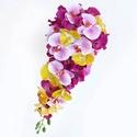 RENDELÉSRE KÉSZÜLT -Orchideás szett, Minőségi, élethű alapanyagból készült orchi...