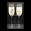Egyedi NÉVRE szólóan és SAJÁT FOTÓVAL  is elkészíthető minőségi  pezsgős poharak ( legény -és leány búcsúra -esküvőre ), Ideális ajándék eljegyzésre, házasságkötés...