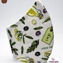 EGYEDI OLIVÁS SZÁJMASZK -Textil szájmaszk-Egészségügyi szájmaszk -Felnőtteknek ,gyerekeknek -, Támogassa termékeink megvásárlásával a PIROS...