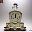 MERCEDES pálinkás készlet ; Mercedes rajongóknak, MERCEDES pálinkás készlet ( 0,5l + 6 x 45ml + f...