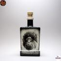 Vadász - vaddisznó motívummal - italos üveg, Vadász - vaddisznó motívummal - italos üveg ( ...