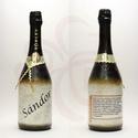 Neves-névnapos SÁNDOR nevű férfiaknak, neves ajándék pezsgő, Neves - névnapos - egyedi névvel - SÁNDOR nevű...