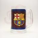 FC Barcelona sörös korsó ; Barcelona foci szurkolóknak, FC Barcelona sörös korsó, pohár  ( 0,5l )   Ig...