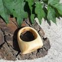 Cédrusfa Gyűrű (deedes) - Meska.hu
