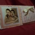 Dejó naptár 2., Naptár, képeslap, album, Jegyzetfüzet, napló, Fotóalbum, Ez az asztali naptár nagyon kedves ajándék lehet szülőnek, nagyszülőnek, barátnak, barátnőnek vagy a..., Meska