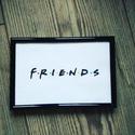 Friends vászonkép, Dekoráció, Otthon, lakberendezés, Kép, Falikép, A kép feszített vászonra, akrilfesték használatával készítem. A kép falra akasztható. Bár..., Meska