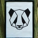 Panda vászonkép, Baba-mama-gyerek, Dekoráció, Gyerekszoba, Kép, A kép feszített vászonra, akrilfesték használatával készítem. A kép falra akasztható. Más..., Meska