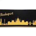 Budapest vászonkép, Dekoráció, Otthon, lakberendezés, Kép, Falikép, A kép feszített vászonra, akrilfesték használatával készítem. A kép falra akasztható. Bár..., Meska