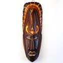 Afrikai maszk egzotikus bőrrel M-2