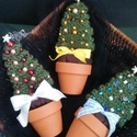 Karácsonyfa cserépben, Kiskarácsony, nagykarácsony?elkészült a karác...