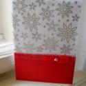 (Karácsonyi) képeslap, Karácsonyi, adventi apróságok, Ajándékkísérő, képeslap, Karácsonyi képeslap,de más alkalomra is megfelel, szabvány kis borítékban küldhető (mérete 15 x 10.5..., Meska