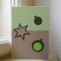 Karácsonyi képeslap, Karácsonyi, adventi apróságok, Ajándékkísérő, képeslap, Karácsonyi képeslap, szabvány kis borítékban küldhető (mérete 15 x 10.5 cm). Az alapja fehér karton,..., Meska