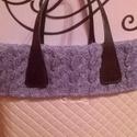 Kézzel kötött gallér Obag táskára, Táska, Kötés, O'bag táskára készült, kézzel kötött gallér.  Méretek: Classic és mini méretben is rendelhető.  Fon..., Meska