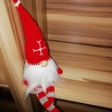 Skandináv karácsonyi manó, Otthon & lakás, Karácsony, Dekoráció, Ünnepi dekoráció, Karácsonyi dekoráció, KÉRLEK,  HOGY VÁSÁRLÁS ELŐTT BELSŐ ÜZENETBEN EGYEZTESSÜNK AZ ELKÉSZÍTÉS HATÁRIDEJÉRŐL!  Színes fonal..., Meska