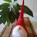 Skandináv karácsonyi manó, Otthon & lakás, Dekoráció, KÉRLEK,  HOGY VÁSÁRLÁS ELŐTT BELSŐ ÜZENETBEN EGYEZTESSÜNK AZ ELKÉSZÍTÉS HATÁRIDEJÉRŐL!  Színes filcb..., Meska