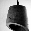 Design betonlámpa ajándékkal !, Dekoráció, Konyhafelszerelés, Otthon, lakberendezés, Lámpa, Szobrászat, Egyedi betonlámpa, mely igazi hangulatvilágítást és egyedi megjelenést kölcsönöz otthonodba, kávézó..., Meska