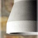 """Egyedi beton design lámpa, Otthon, lakberendezés, Lámpa, Fali-, mennyezeti lámpa, Hangulatlámpa, Legújabb design beton lámpa """" Ego """".  Minden lámpa kézzel készül, egyedi rendelésre. A legtö..., Meska"""