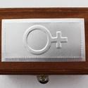 It's a girl - lányszimbólumos dobozka gyerekszületésre,  (Dobozmanufaktura) - Meska.hu