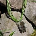Rheia - Téglalap alakú fogaskerekes medál/kulcstartó, Ékszer, Mindenmás, Medál, Kulcstartó, Ékszerkészítés, Mindenmás, 30 mm-es kör alakú medál műgyantából, benne fogaskerekekkel és csillámporral, a steampunk stílus je..., Meska