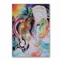 Táncosok akvarell festmény, Táncosok című akvarell festményemet a nyári f...