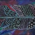 Indiánnyár, Képzőművészet, Dekoráció, Festmény, Olajfestmény, Festészet, A képet vakkeretre feszített vászonra festettem olajfestékkel - így keretezés nélkül is jól mutat a..., Meska