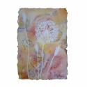 Pitypang hajnali szellőben akvarell festmény, Kézzel merített akvarellpapírra festettem ezt a...