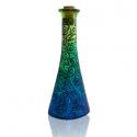 Olaj vagy ecettartó díszüveg IV., Díszüveget festettem a szokásos kedvenc motívu...