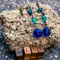 Kék, türkizkék lógós fülbevaló, női fülbevaló, ajándék, Ékszer, Esküvő, Fülbevaló, Esküvői ékszer, Kék, türkizkék lógós fülbevaló, női fülbevaló, ajándék  Klasszikus, jól kombinálható fülbevaló, gyön..., Meska