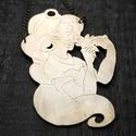 Disney Jasmine Aladdin nyaklánc, Ékszer, Nyaklánc, Disney Jasmine Aladdin nyaklánc Melyik Disney rajongó ne imádná ezt a nyakláncot? Ajándékba telitalá..., Meska
