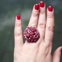 Eper illatú édes csábítás köralakú eper színű, állítható méretű gyűrű!, Ékszer, Mindenmás, Gyűrű, Eper illatú édes csábítás köralakú eper színű, állítható méretű gyűrű! Imádom a hat..., Meska