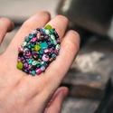 Nagyon színes, különleges, állítható méretű gyűrű!, Ékszer, Mindenmás, Gyűrű, Nagyon színes, különleges, állítható méretű gyűrű! Imádom a hatalmas gyűrűket, amik ön..., Meska