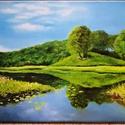 Tavasz után 2, Művészet, Festmény, Olajfestmény, Festészet, Eladásra kínálom 30x40cm olajjal festett Tavasz utan 2 című festményem , Meska