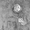 Lukas ezüst ékszer szett, Ékszer, óra, Gyűrű, Ékszerkészítés, Fémmegmunkálás, Ezüst ékszer szett. A felület csiszolt, mattos.Kérhető külön is a fülbevaló illetve a gyűrű, de kér..., Meska