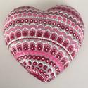 Szerelem mandala, egyedi kézzel festett minta, Dekoráció, Szerelmeseknek, Dísz, Festett tárgyak, Csodás, egyedi a rózsaszín különböző árnyalataiban pompázó, kézzel készített mandala festés, mely a..., Meska