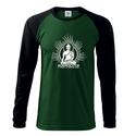 Férfi Buddha hosszú ujjú póló, Jóga, OM, Ohm , yoga, Ruha, divat, cipő, Mindenmás, Férfiaknak, Férfi ruha, 100 % pamut 180 g/m  Trendi design. Kézi szitanyomás. A nyomatokhoz nem használtunk káros anyagokat,..., Meska