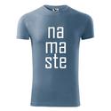 Férfi Namaste rövid ujjú póló, Jóga, OM, Ohm , yoga, chakra, Ruha, divat, cipő, Mindenmás, Férfiaknak, Férfi ruha, 100 % pamut 180 g/m  Trendi design. Kézi szitanyomás. A nyomatokhoz nem használtunk káros anyagokat,..., Meska