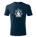 Férfi Buddha rövid ujjú póló, Jóga, OM, Ohm , yoga, chakra, Budha, Ruha, divat, cipő, Mindenmás, Férfiaknak, Férfi ruha, 100 % pamut 180 g/m  Trendi design. Kézi szitanyomás. A nyomatokhoz nem használtunk káros anyagokat,..., Meska