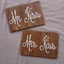 Életem fontos dátumai _ esküvő, Dekoráció, Esküvő, Kép, Esküvői dekoráció, Festett tárgyak, Famegmunkálás, Egyedi megrendelésre készült 2 db tábla.  Igazi, kedves ajándék eljegyzése, esküvőre, vagy saját ma..., Meska