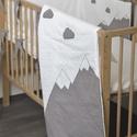 Hegyek- skandináv stílusú baba ágynemű szett