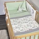 Indián sátras baba ágynemű szett