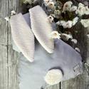 nyuszi párna, Otthon, lakberendezés, Lakástextil, Párna, Prémium minőségű  pamut  textilből készült párna. A nyuszi fülének egyik oldala pamuttexti..., Meska