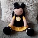 Horgolt baba, Játék, Játékfigura, Horgolás, Kötés, Amigurumi technikával készítettem ezt a bűbájos babát, mely egész pici gyermekeknek is a kedvence l..., Meska
