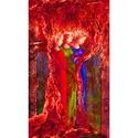 Vörös gráciák, Képzőművészet, Grafika, Fotó, grafika, rajz, illusztráció, Digitális grafika, limitált példányszám, maximum 10 db. Méret: 34 x 57 cm  felbontás: 150 dpi Nincs..., Meska
