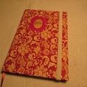 A/5 Határidőnapló, Piros , gumis (12), Naptár, képeslap, album, Naptár, Jegyzetfüzet, napló, Könyvkötés, Papírművészet, Mérete: 14 x 20 cm, hetes beosztású, a végén 60 oldal jegyzettel, halvány vajszínű lapokkal. Az old..., Meska