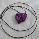 Szív alakú dobozka, medál, Ékszer, Medál, Mérete: 32 x 32 mm. Kicsi, nyitható dobozka, mágneszárral. Ebbe bármi apró dolgot lehet rejten..., Meska
