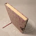 """A/5 """"Epres"""", kampós napló, Méretek: 14 x 20 cm, 240 oldal. Pasztell barackvi..."""