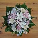 Szatén menyasszonyi örökcsokor, Esküvő, Dekoráció, Esküvői csokor, Csokor, Mindenmás, Mesésen egyedi.  Bármilyen színben gondolkodhatunk ha ezt az egyedi elkészítésű, szatén virágokból ..., Meska